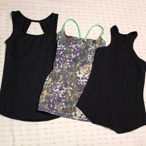 Lululemon tops, size 2 (3 Tops), Excellent Cond
